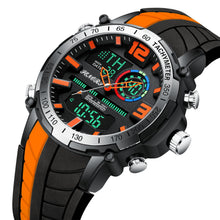 men's digital analog combination watches