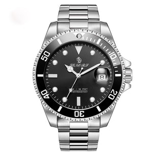 mens stainless steel automatic watches