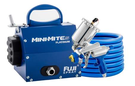 Fuji Mini-Mite 5 Platinum HVLP Turbine Outfit Review & Overview (Includes Video)