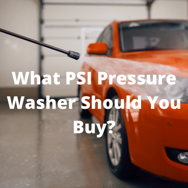 What is a Good PSI for a Pressure Washer (Chart Included)