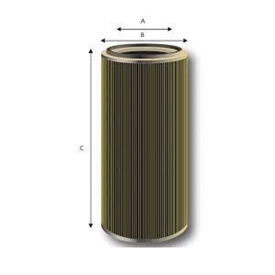 Powder Coating Cartridge Filters