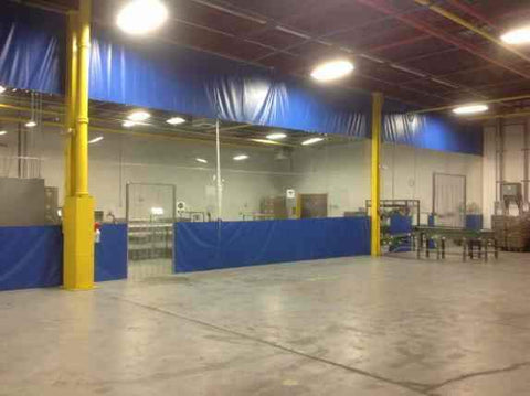 Warehouse Curtain Dividers