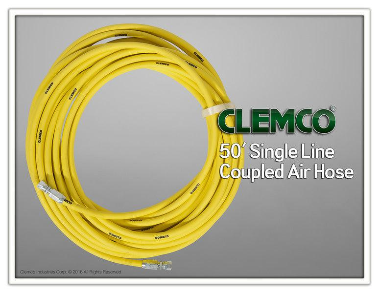 Clemco 03087 - Coupled hose, air 3/16