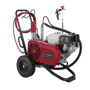 Titan PowrTwin 12000 Plus 3600 PSI @ 3.15 GPM Gas/Electric Powered Paint Sprayer - Cart