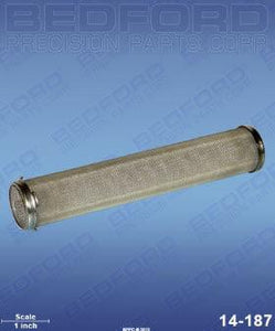 Graco 167-027 Bedford 14-187 Outlet Filter Element (200 mesh, stainless steel) (1587579584547)