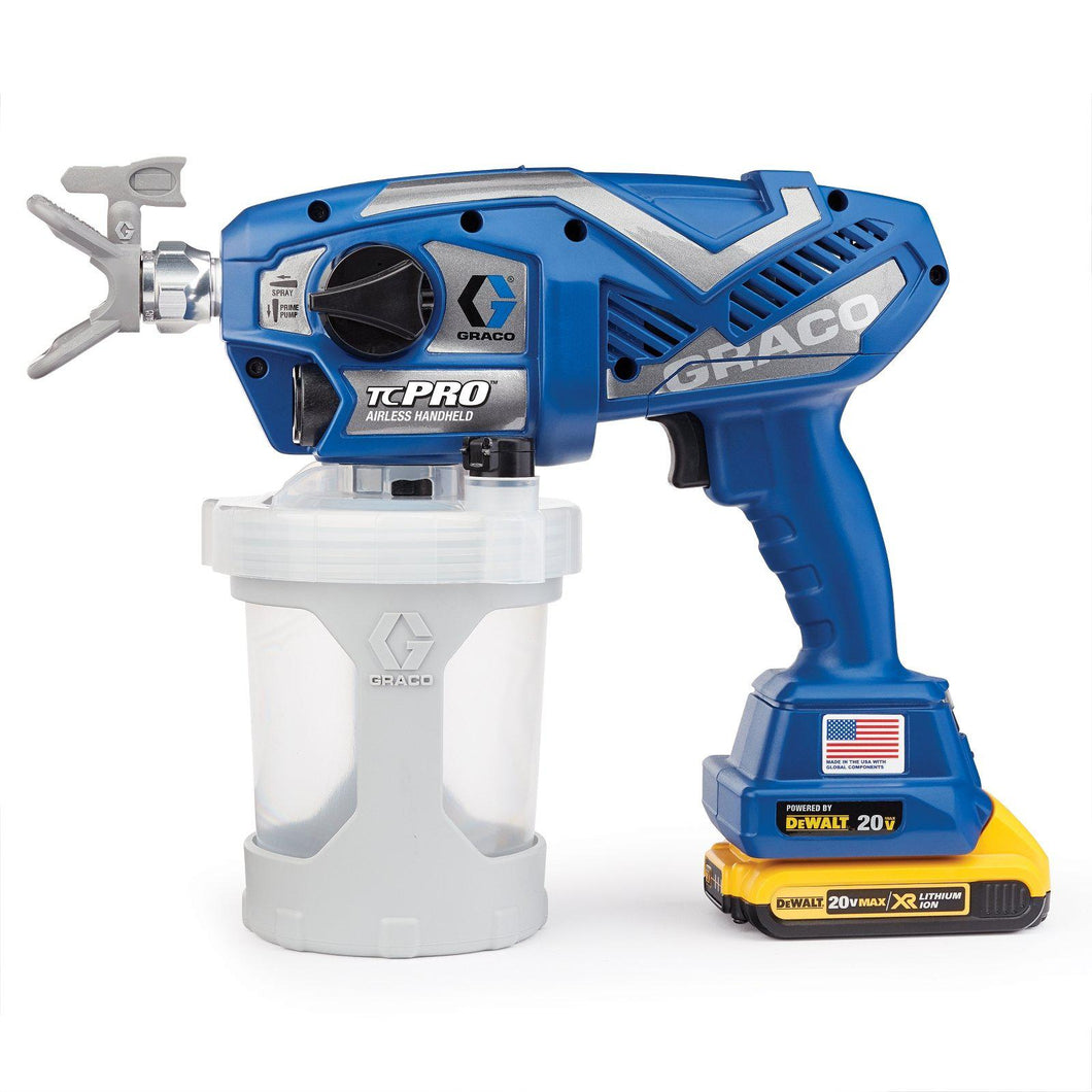 Graco 17N166 TC Pro Cordless Handheld Airless Sprayer