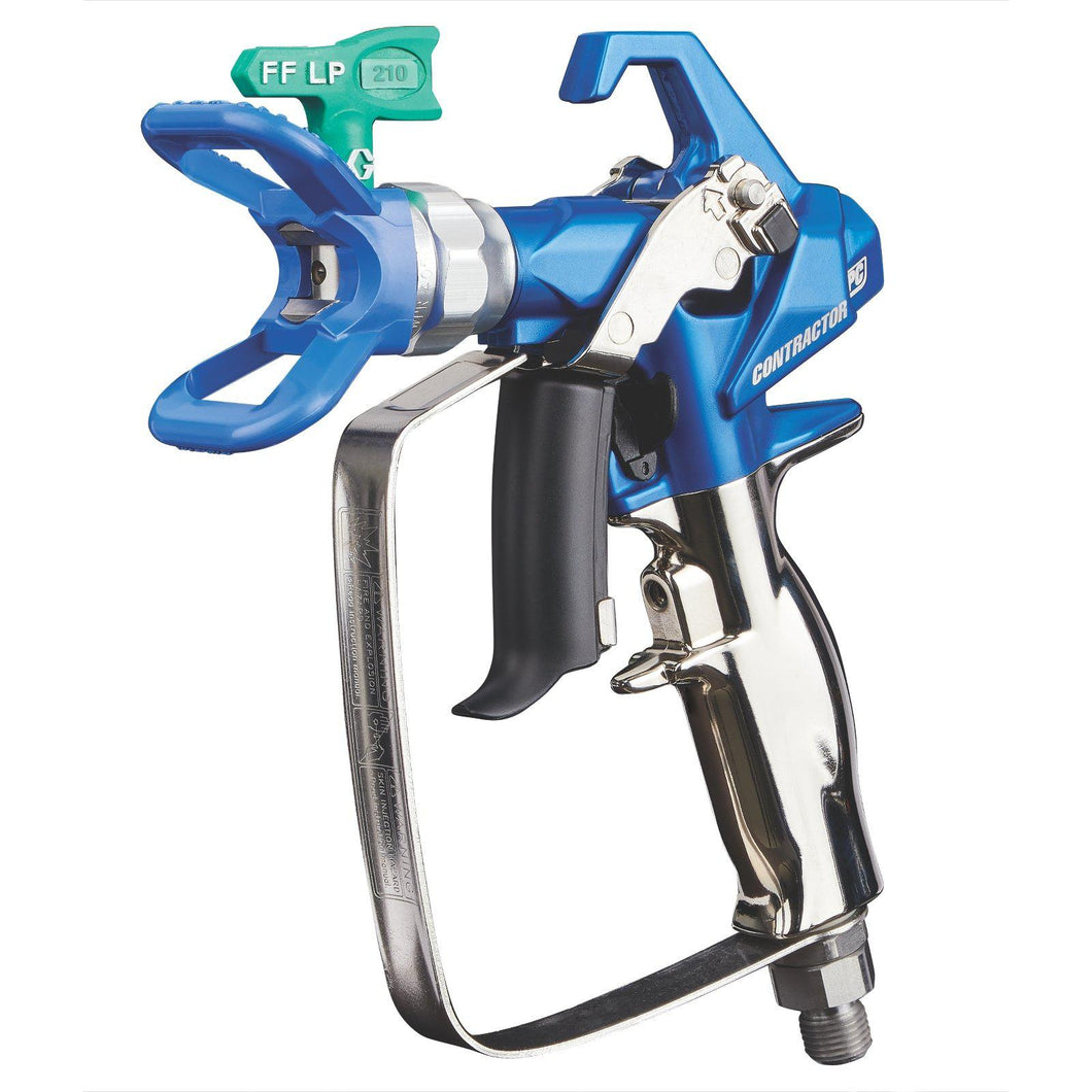 Graco Contractor PC Airless Spray Gun with RAC X FFLP 210 SwitchTip
