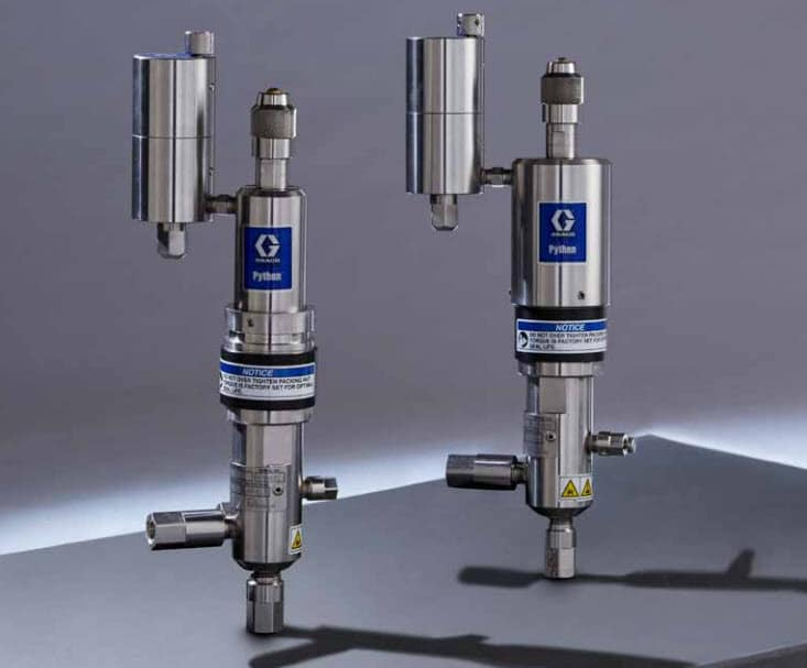 Graco Python Pneumatic Operated Pumps