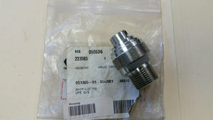 Intake Valve - stainless steel housing with carbide seat (1587482656803)