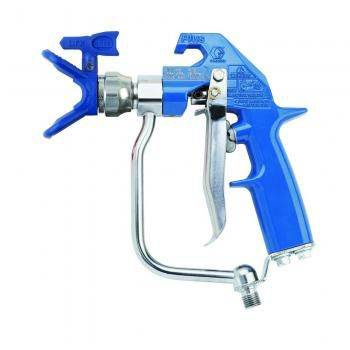 Graco Heavy-Duty Blue Texture Airless Spray Gun, 4 Finger Trigger, RAC X (1587203571747)
