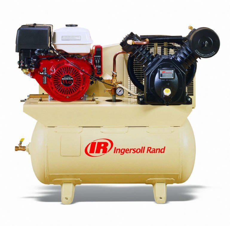 Ingersoll Rand 2475F13GH Single Stage Gas Powered 25 CFM @ 175 PSI Air Compressor