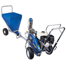 Load image into Gallery viewer, Graco DutyMax GH 675DI 6750 PSI @ 1.5 GPM Gas Hydraulic Airless Sprayer w/ Big 150 & Hopper