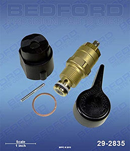Titan 800-915 Bedford 29-2835 Prive / Spray Valve Assembly - with solvent resistant o-ring (1587345293347)