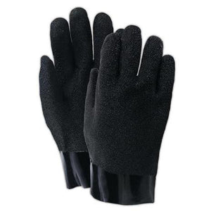 Showa 361-10 Neo Hyde PVC Coated Chemical Resistant Gloves - 12Pr/Pk