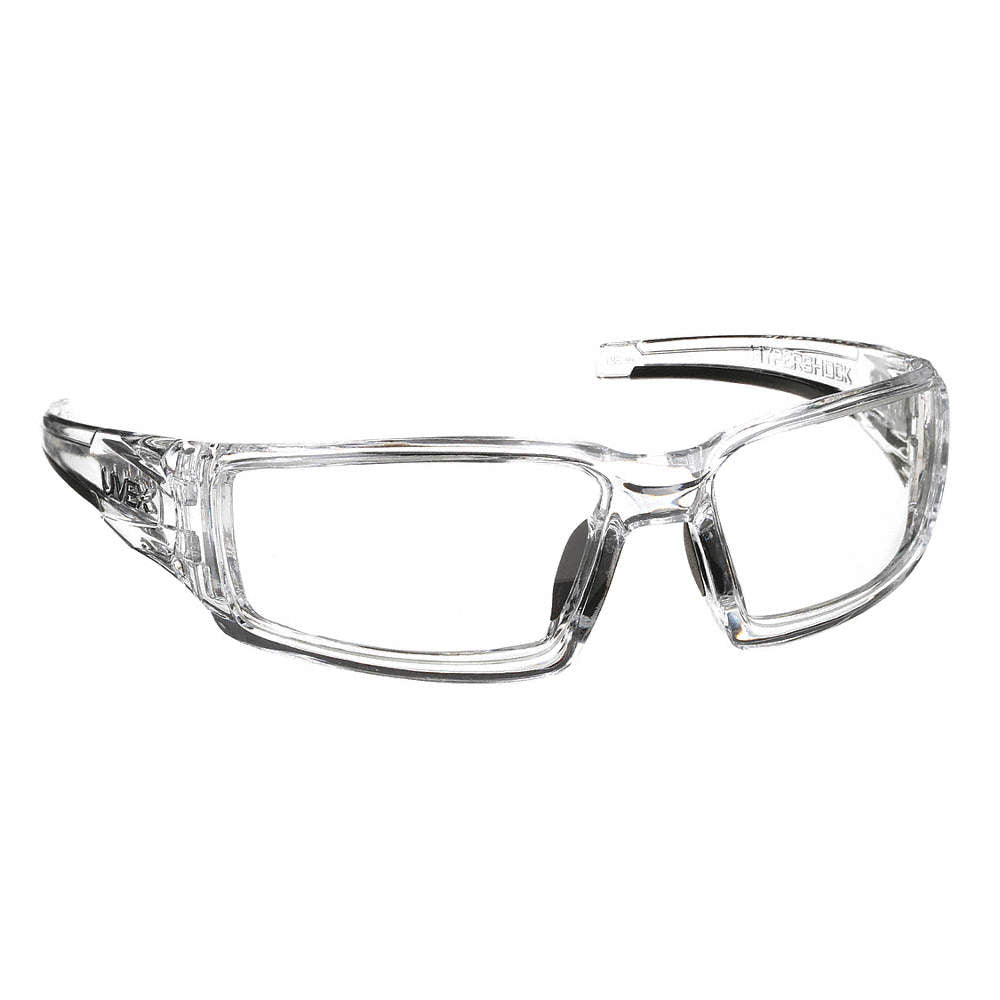 HONEYWELL UVEX S2970XP Hypershock Safety Glasses With Clear Frame And Clear