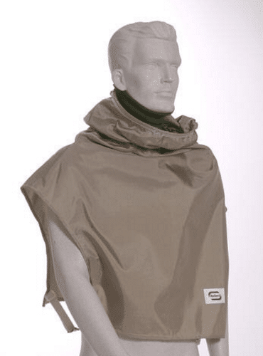 Bullard Tan Nylon Cape (1587468861475)