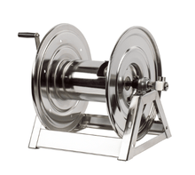 "Load image into Gallery viewer, Cox Hose Reels -1125 SS ""Stainless Steel"" Series - Hand Crank - 17.63"" Length (1587268681763)"