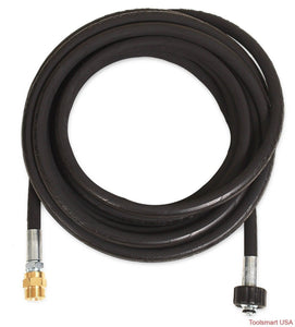 "Mi-T-M 23' x 5 ⁄16"" Extension Hose - 3500 PSI"