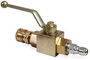 Shut-off Valve for Rotary Surface Cleaners