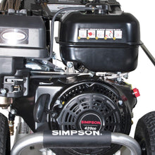 Load image into Gallery viewer, Simpson Industrial Rental Series Professional Pressure Washers - 4400PSI@4GPM - SIMPSON 420cc - AAA Industrial Triplex - Direct Dive -  (Gas - Cold Water)