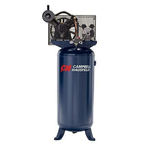 Campbell Hausfeld 5-HP 80-Gallon Two Stage Air Compressor - SCFM @ 90 PSI – 11.9 -  SCFM @ Max PSI – 11.3 - 230 volt