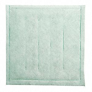 Binks 29-486 Air Filter Pad - 20x20x1 - Polyester - 20/Pk