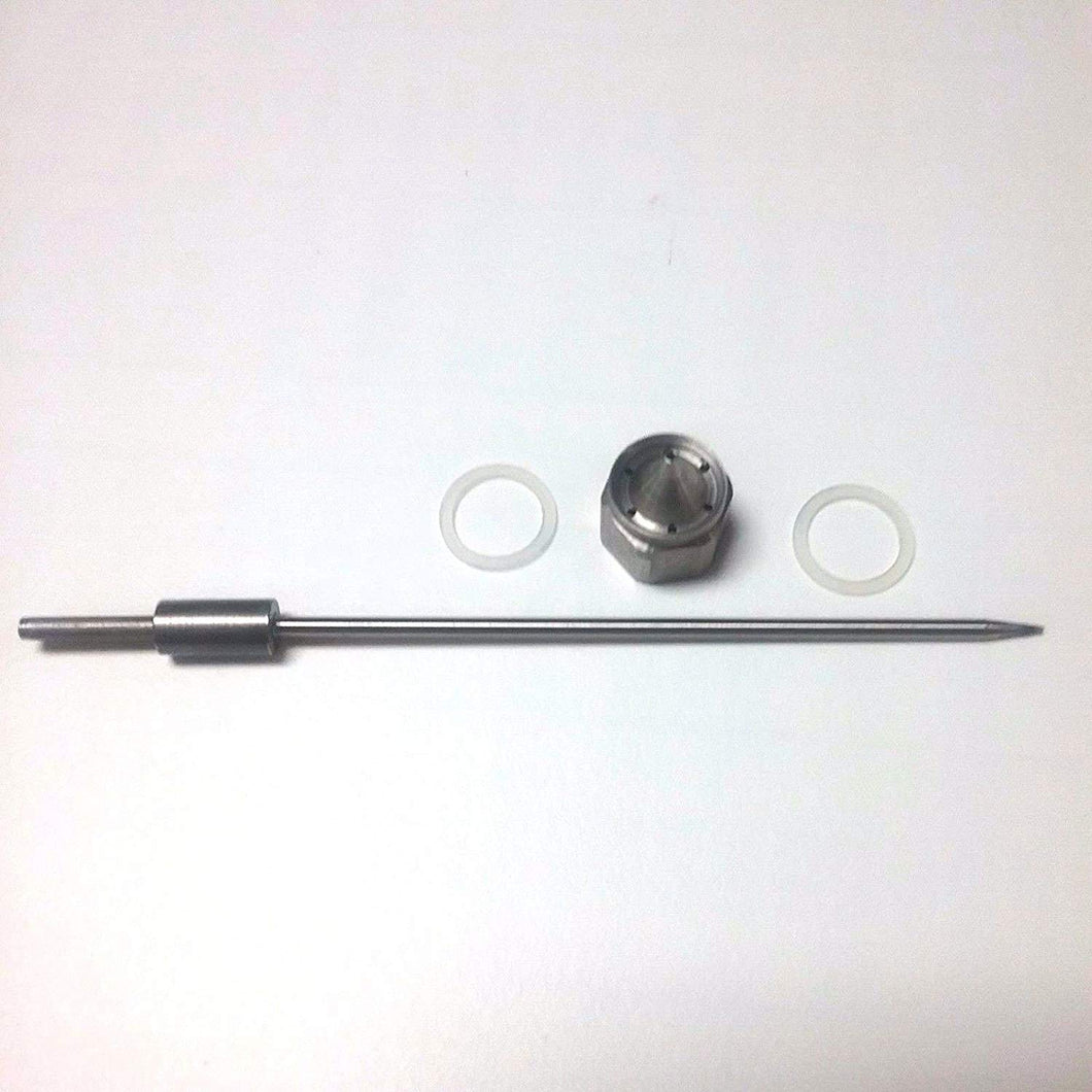 Devilbiss Tip, Needle & Gasket (lapped) (includes #14)
