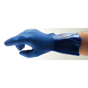 Ansell 04-644 SUPERFLEX  PVC Chemical Resistant Gloves - 12Pr/Pk