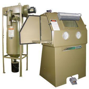 Clemco BNP 65 Suction Blast Cabinet - Ergonomic Single Phase - BNP-65S-600 CDC