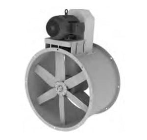 30″ Tube Axial ATA Paint Booth Fan (Less Motor) (1587360792611)