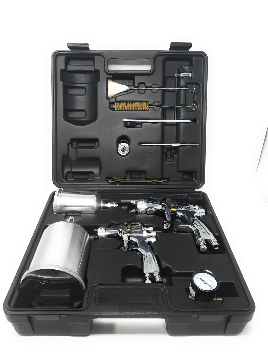 BINKS 9I-3170 SV50 HVLP GRAVITY SPRAY GUN COMBO SET