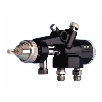 Binks 95A Automatic Conventional Air Spray Gun Pressure Feed
