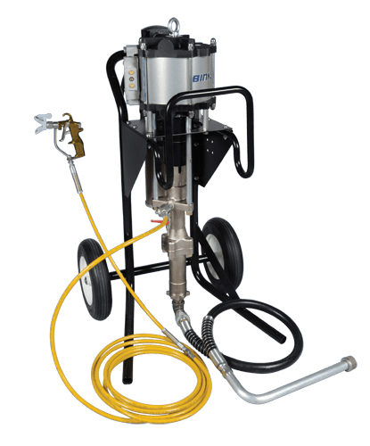 Binks MX3560 Airless Paint Sprayer for Corrosion Control and Protective Coating