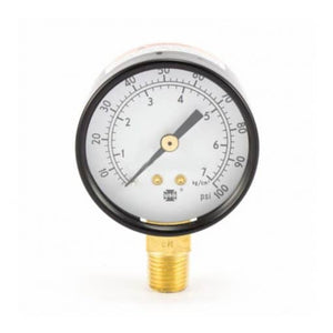 Binks Air Pressure Gauge Bottom Mount 100 PSI (1587572277283)