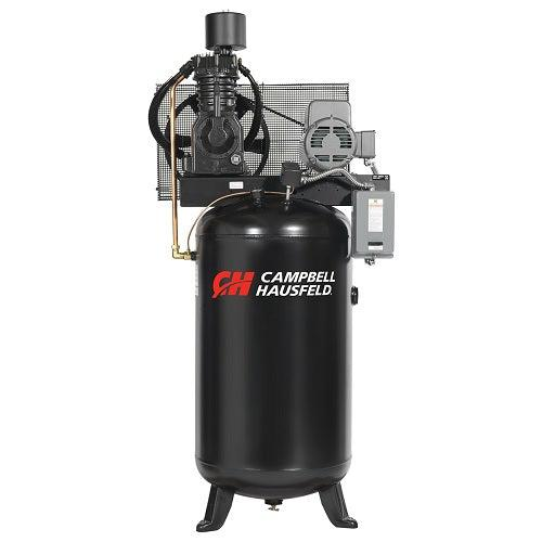 Campbell Hausfeld 80 Gallon 2 stage - 1 Phase Vertical Compressor - 7.5 hp