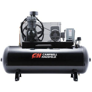 Campbell Hausfeld 80 Gallon 2 Stage - 3 Phase Horizontal Compressor - 5 hp