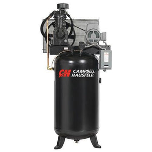 Campbell Hausfeld 80 Gallon 2 Stage - 3 Phase Vertical Compressor - 5 hp