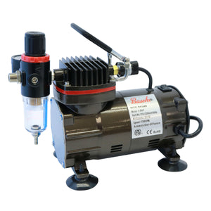 DA300R 1/5 HP Oilless Compressor with Regulator & Auto Shutoff