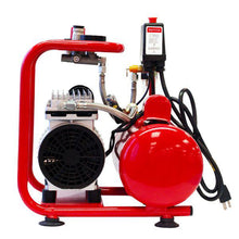 Load image into Gallery viewer, Paasche DC850R 3/4 HP Oilless Compressor with Tank.