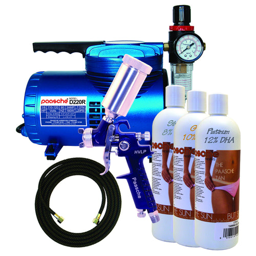 DT-800F Fast Application Tanning Kit with 500T & D220R