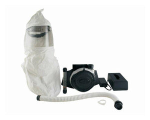 Bullard EVA PAPRs (Powered Air Purifying Respirators) - Hood System - Long Double Bib with Suspension and Taped Seams With Decontamination Holding Belt