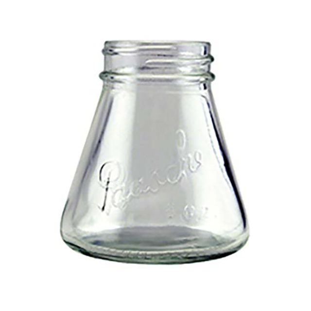Paasche 3 oz./88cc Glass Bottle