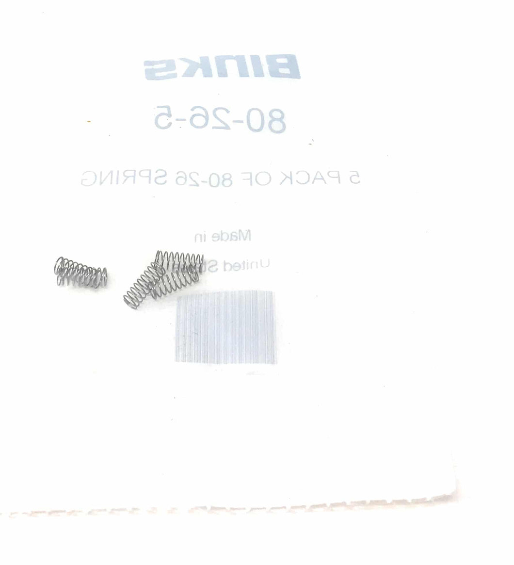 Binks 80-26-5 5 Pack Of 80-26 Spring