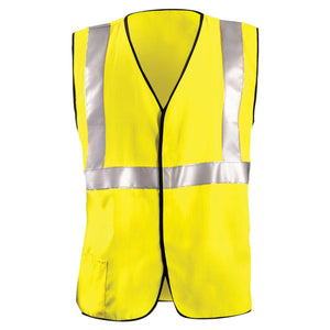 OccuNomix LUX-HRC2FR Type R Class 2 Solid HRC2 FR Safety Vest - 1/EA
