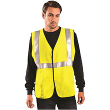 Load image into Gallery viewer, OccuNomix LUX-HRC2FR Type R Class 2 Solid HRC2 FR Safety Vest - 1/EA