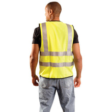 Load image into Gallery viewer, OccuNomix LUX-SSFG-FR Type R Class 2 Premium Dual Stripe Solid FR Safety Vest - 1/EA