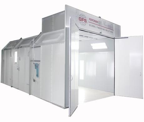 Global Finishing Solutions Performer ES Paint Booth (1588253294627)