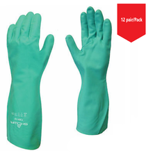 Load image into Gallery viewer, Showa 727 Nitri Solve Unlined Chemical Resistant Glove - 12/Pr/Pk