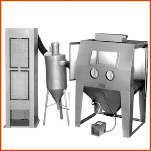 TRINCO™ Model 48×36 DELUXE with 600 CFM Abrasive Separator (1587357155363)