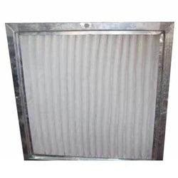 "Metal Pleated Exhaust Filter 26 1/2""X47""X2"""